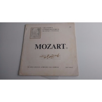 Lp Grandes Compositores Da Música Universal Mozart (i)