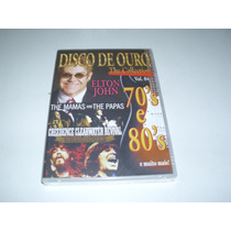 Dvd Disco De Ouro The Collections Vol 4