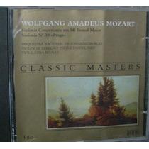 Cd Classic Masters / Mozart / Frete Gratis