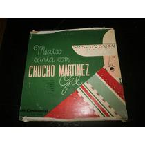 Lp México Canta Com Chucho Martinez, Disco Vinil, 10 P
