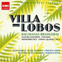 Box 2 Cd Villa-lobos Bachianas Brasileiras Guitar Fantasia