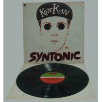 Kon Kan Lp Nacional Syntonic 1990 Encarte