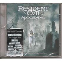 Cd - Resident Evil: Apocalypse - Novo, Lacrado
