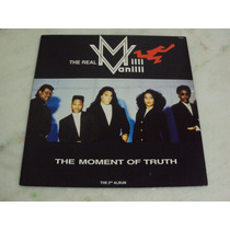 Lp Milli Vanilli - 1991 The Moment Of Truth + Encar (zerado)