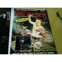 Revista Bateria Modern Drummer N°7 1997 Capa Eric Kretz