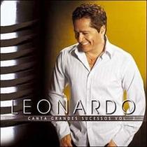 Cd Leonardo Canta Grandes Sucessos Vol 2