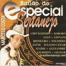 Cd Marcelo Costa Bailao Do Especial Sertanejo
