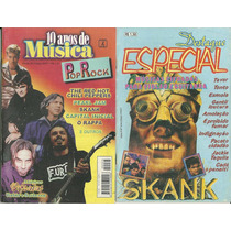 Revista-skank,o Rappa,capital Inicial,pearl Jam,red Hot Chil