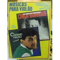 Revista - Músicas Para Violão Chico Buarque/ Caetano Veloso