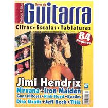 Revista Método Prático Solos De Guitarra Com Cifras/escalas