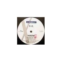 R.i.o. - Someone 12 Dj Mix Vinil Flash House Import Italy 96