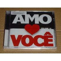 Amo Você Volume 18 Bruna Karla Cristina Mel Cd Novo Lacrado