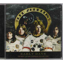 Led Zeppelin Early Days Best Volume One (mb+) Usa Cd