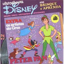 Historinhas Disney 14 Compacto De Vinil+livreto Peter Pan