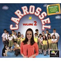 Cd Carrossel Volume 2 Original Lacrado Portal Music