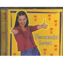 Cd Fernanda Souza - 1996 - Raríssimo - Chiquititas