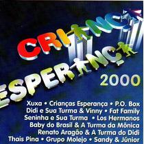 Cd Criança Esperança 2000 - Rede Globo *lacrado*