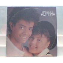 Lp Vinil Single - Jairzinho & Simony Adivinha - Stereo 1987