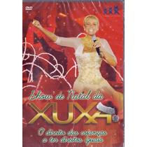 Dvd Xuxa - Show De Natal Da Xuxa - Novo***