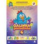 Dvd Galinha Pintadinha 4 - Original & Lacrado !!!