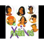 Cd-oxgênios-1998-part.as Paquitas E Xuxa-em Otimo Estado