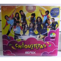 Não Xuxa Sandy Cd Chiquititas Remix Sbt Lacrado Com Pulseira
