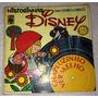 Lp + Livro Historinhas Disney Chapeuzinho Vermelho Infantil