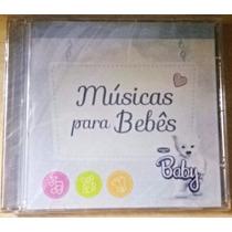 Cd Músicas Para Bebês (lacrado De Fabrica)