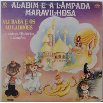 Lp Aladim E A Lâmpada Maravilhosa - 1985 - Carroussell