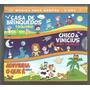 Box 03 Cds Infantil Casa Brinquedos Mpb4 Toquinho Lacrado