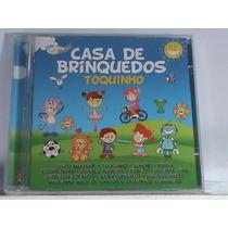 Cd - Casa De Brinquedos - Toquinho (novo -original -lacrado)