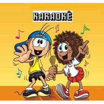 Coletânea 3 Dvds 140 Músicas Karaokê Infantil Frete Grátis