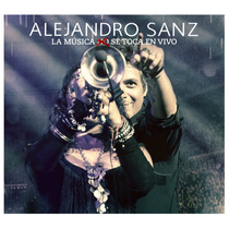 Cd/dvd Alejandro Sanz Música No Se Toca: En Vivo [eua] Novo