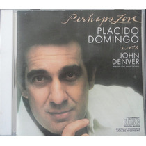 Cd Placido Domingos - Perhaps Love - Usado