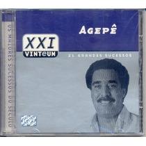 Cd Agepê - 21 Grandes Sucessos - Xxi - Vinteum - Lacrado