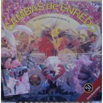 Lp Sambas Enredo Escolas De Samba Do Grupo 1a - Carnaval 88