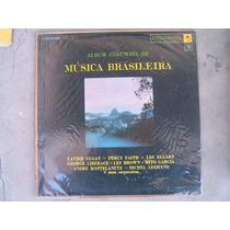 Album Columbia De Música Brasileira - Orquestras Lp Vinil