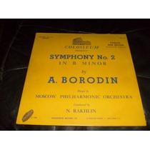 Lp Borodin Orquestra Sinfonica Moscow Importado 1950