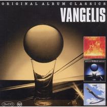 Cd Box Vangelis Original Album Classics [eua] Novo Lacrado