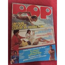 Revista Pop 78 C/jornal Leiloca Rita Lee Poster Fafá De B