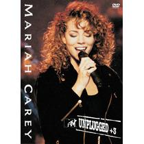 Dvd Mariah Carey - Mtv Unplugged (1992) * Lacrado * Raridade