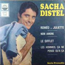 Sacha Distel Compacto Vinil Roméo Et Juliette 1968 Mono