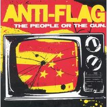 Cd Anti-flag: The People Or The Gun - Importado