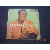Lp Harry Belafonte -belafonte -1º Lp Brasil -1956-capa Dura