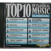 Cd Top 10 Of Classical Music - Importad - Frete Gratis