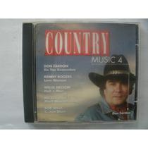 Cd > Country Music 4 - Frete Gratis