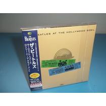 The Beatles Live At Hollywood Bowl - Cd Mini Lp - Capa Dupla