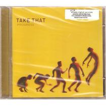 Cd Take That - Progress ( Lacrado - Frete Gratis )