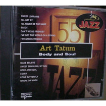 Cd Art Tatum / Body And Soul / Frete Gratis