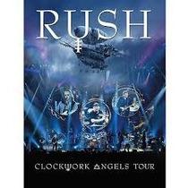 Dvd Rush - Clockwork Angels Tour ( 2 Dvd